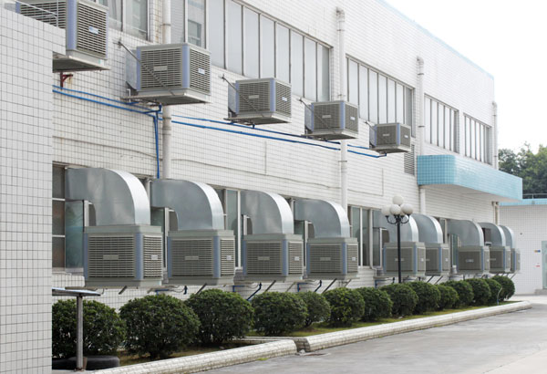 Xingke-Find Industrial Cooler Xikoo 18000m³h 11kw Water Air Cooler-12