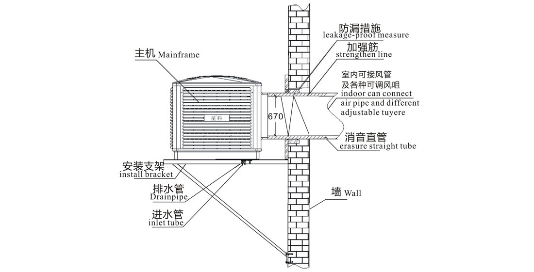 Xingke-Evaporative Water Cooler Manufacture | Xikoo Side Flow 23000m³h