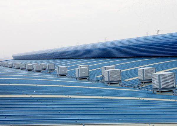 Xingke-Water Air Cooler | Down Flow 25000m³H 15kw Evaporative Air Cooler-12