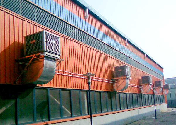Xingke-Water Air Cooler | Down Flow 25000m³H 15kw Evaporative Air Cooler-13