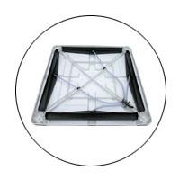 Xingke-Xikoo 30000m³H 3kw Warehouse Workshop Evaporative Cooling Fan-9
