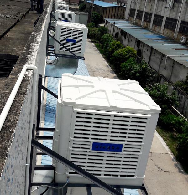 Xingke-Xikoo 30000m³H 3kw Warehouse Workshop Evaporative Cooling Fan-12