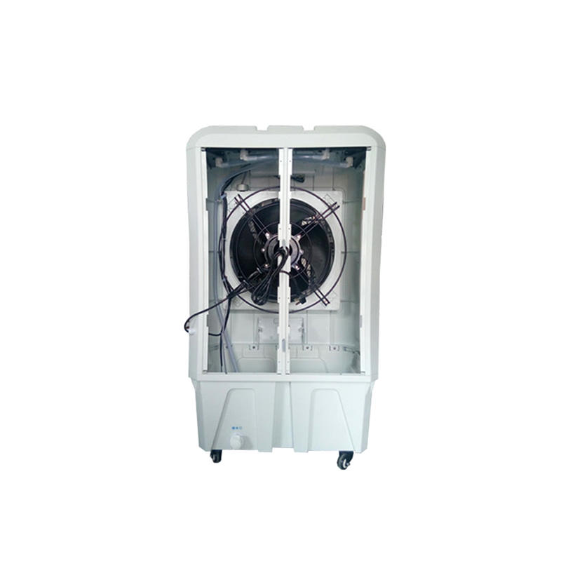 XIKOO 6000m³/h 200w portable evaporative air cooler for 20-35㎡ area XK-06SY with new material PP plastic cabinet