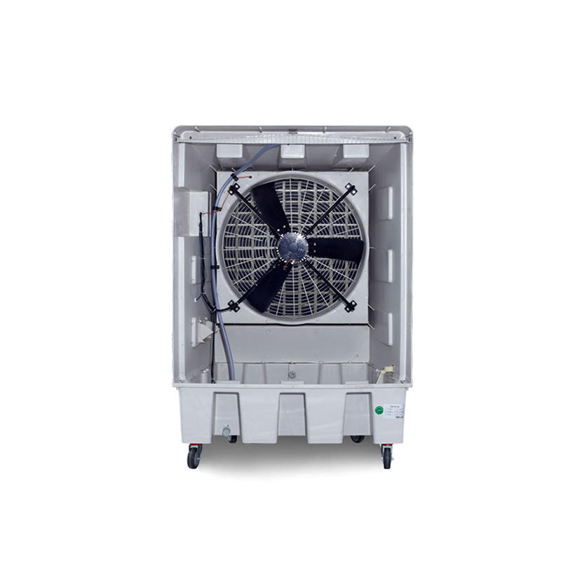 XIKOO 18000m³/h 550w portable air cooler for 100-150㎡ area XK-18SY with high density 5090# cooling pad
