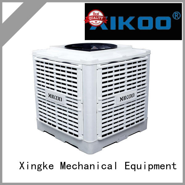workshop industrial evaporative cooler with ce quality authentication for factory