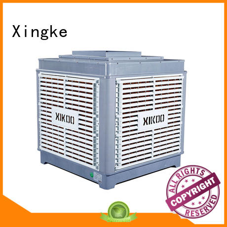 Xingke high quality evaporative water cooler with cooling water circulating pump for factory