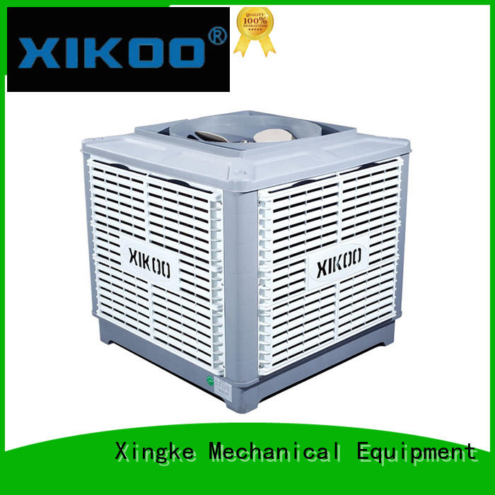 noiseless industrial evaporative air cooler with copper wire motor wholesale