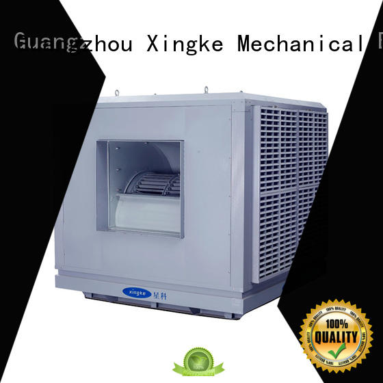 Xingke roof mounted large air coolers for factory