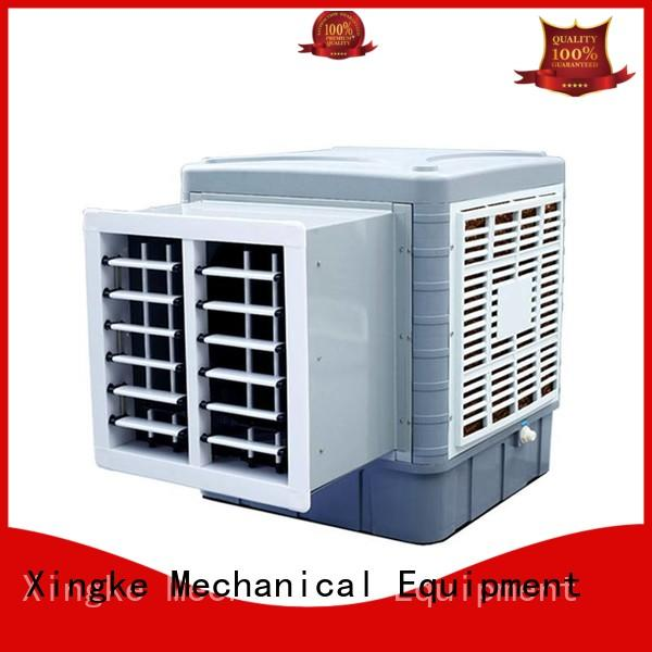 Xingke best window evaporative air cooler with high pressure mute plastic nylon fan for industry