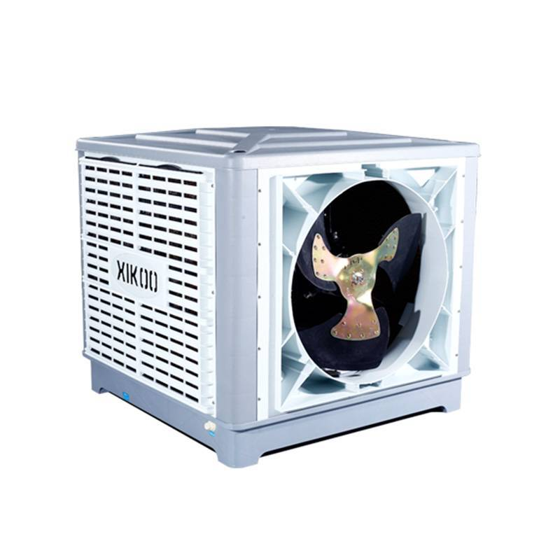 XIKOO 18000m³/h 1.1kw side flow industry air cooler for 100-150㎡ area XK-18S-SIDE with new PP materials