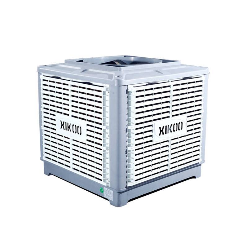 XIKOO 18000m³/h 1.1kw water air cooler for 100-150㎡area XK-18S-UP with 100% copper-wire motor