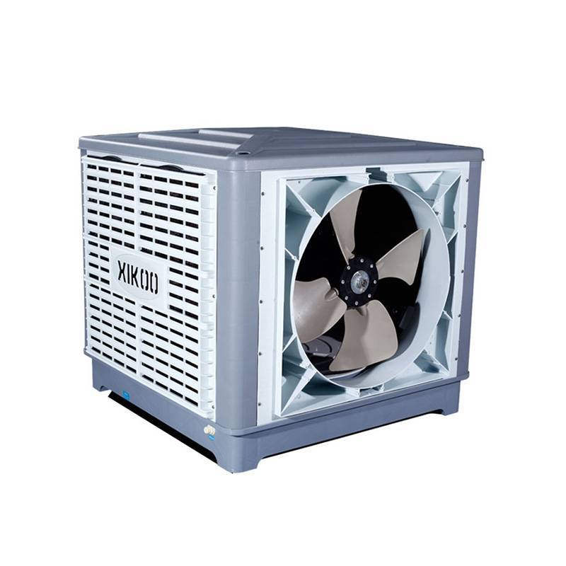 XIKOO 25000m³/h 1.5kw warehouse/workshop air cooler for 100-200㎡area XK-25S-SIDE with 100% Copper-wire motor