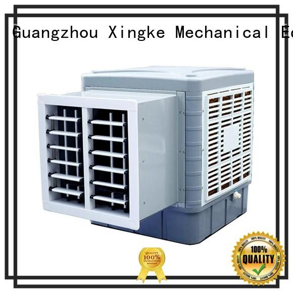 Xingke latest air cooler fan with water factory for industry