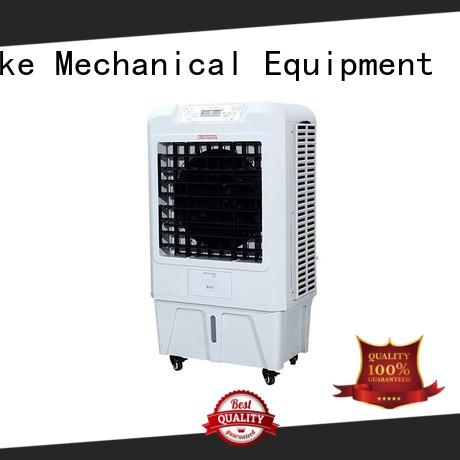professional portable evaporative cooler with double air outlet for home