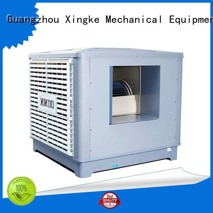 Xingke four blades industrial evaporative cooler with ce quality authentication for sale