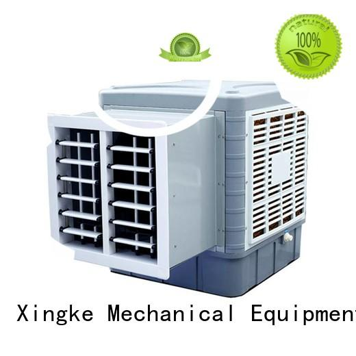 Xingke air cooler fan with water with lcd display for industry