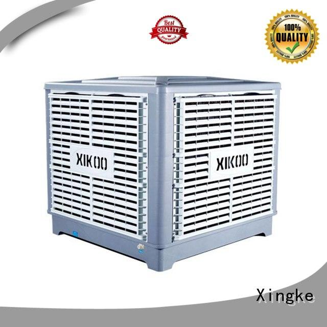 Xingke solar air cooler with copper wire motor for factory