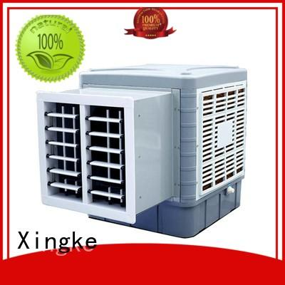 Xingke wall air cooler with high pressure mute plastic nylon fan for apartment