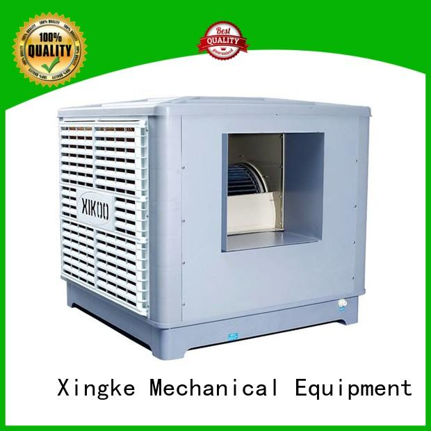 Xingke industrial evaporative air cooler with high pressure mute plastic nylon fan wholesale