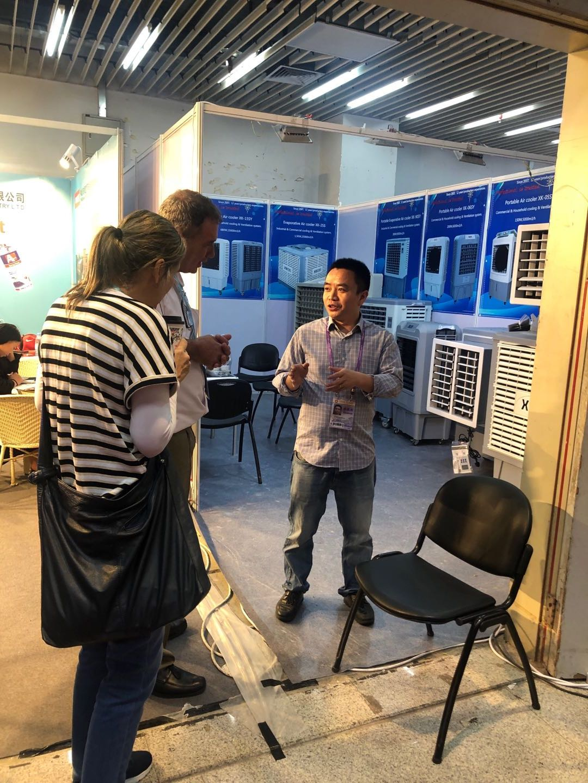 Xingke-Xingke Air Cooler Company Attended 125# Canton Fair, Guangzhou Xingke Mechanical