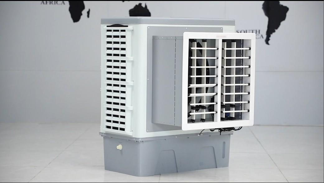 9000m3/h High Efficient Window Mounted Evaporative Air Cooler