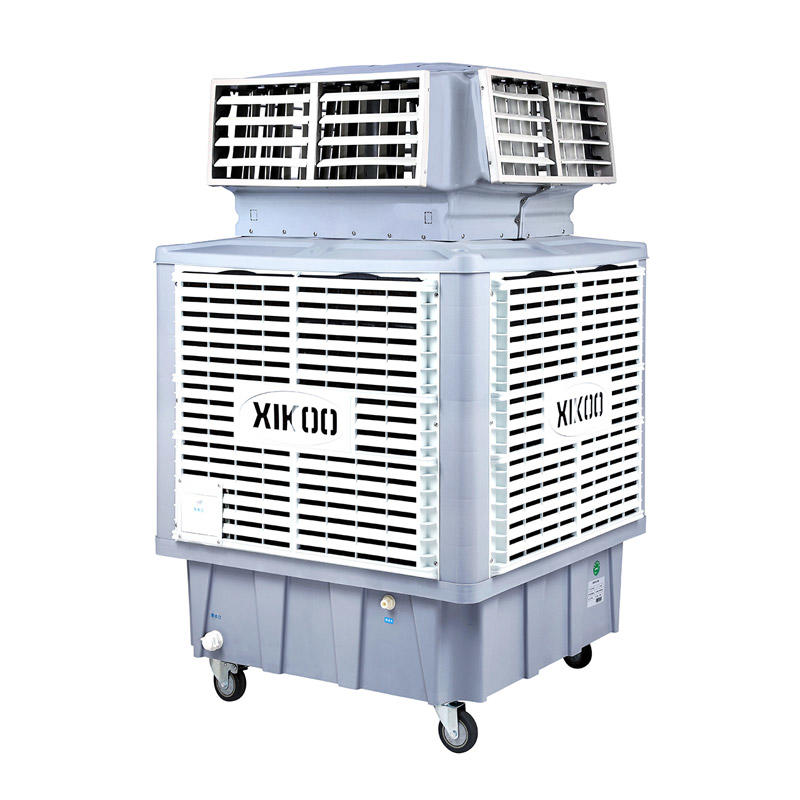 XIKOO 18000m³/h 1.1Kw greenhouse evaporative air cooler for 100-150㎡ area XK-18SY-3 with four side air outlet