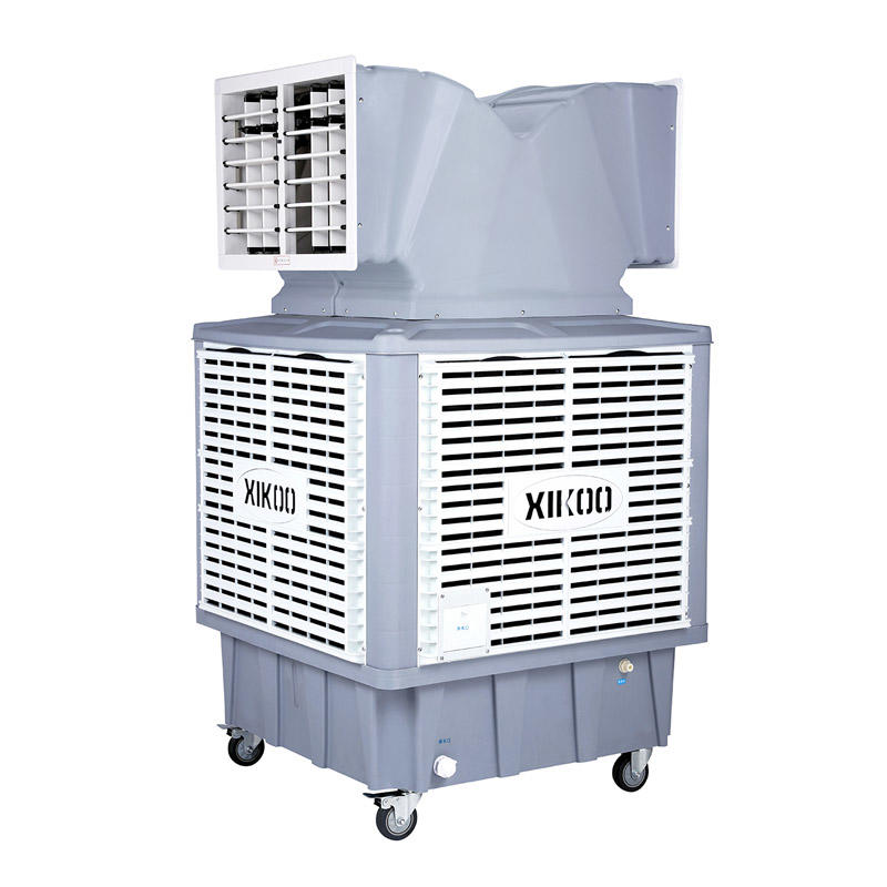 XIKOO 18000m³/h 1.1Kw greenhouse evaporative air cooler for 100-150㎡ area XK-18SY-3 with double air outlet