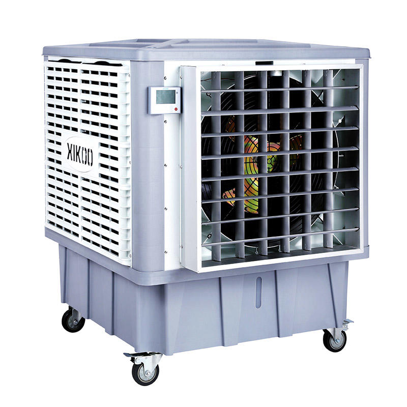 XIKOO 18000m³/h 1.1Kw commercial swamp coolers for 100-150㎡ area XK-18SY-4 with 12 wind speeds